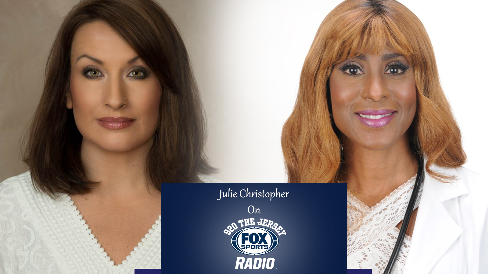 920 The Jersey Fox Sports Radio – Dr Veronica Interviews Julie Christopher