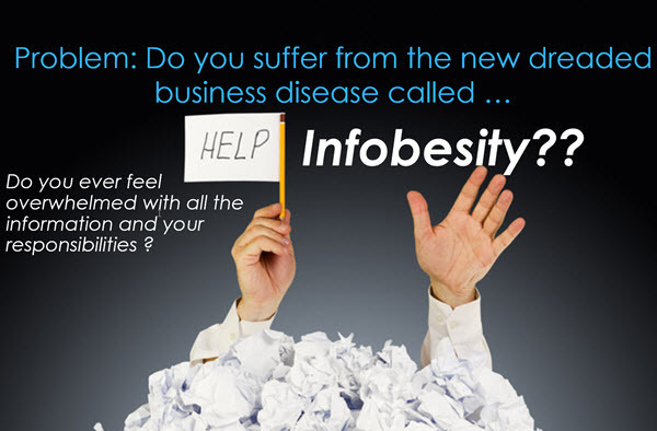The Infobesity Epidemic – How to Deal with Information Overload